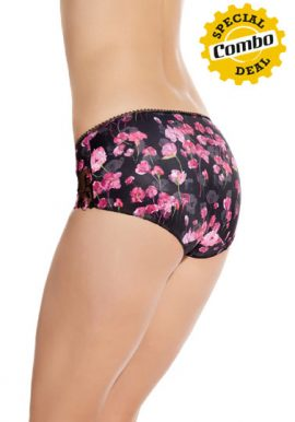 Beautiful Floral Print 2 Piece Panties