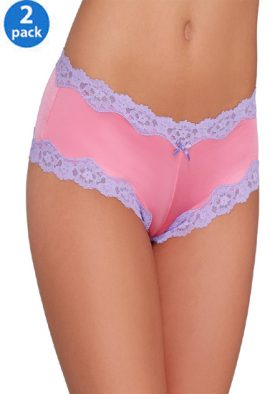 Buy Hipster Lace Panty In Assorted Pack Of 2