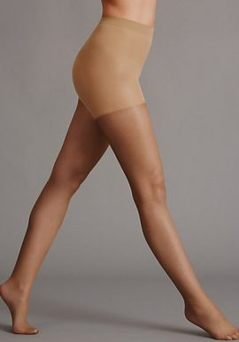 Cool & Comfort Slimming Illusion Sheer Tights