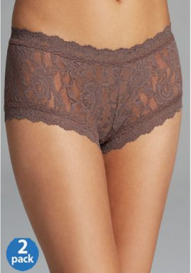 Sensual Brown Lace 2 Piece Panties