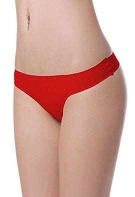 After Eden Sexy Red T-Back Thong Panty