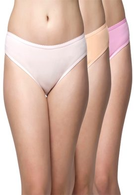 Ladies Everyday Usage 3 Cotton Brief Panties For Men