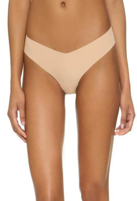 Seamless Skin Color Women's thong Beige Panty underwear