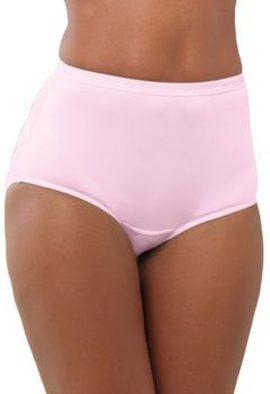 Women's Comfy Control Pk Of 3 Full-Cut Brief For Men