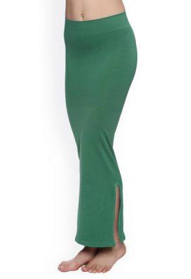 Snazzyway Green Petticoat Saree Shapewear