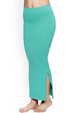 Snazzyway Light Green Saree Shapewear Petticoat