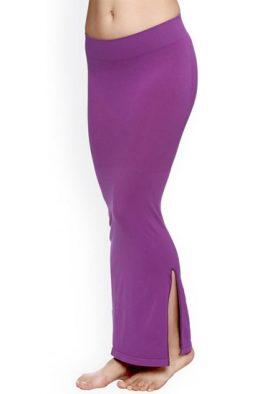 Snazzyway Purple Sliming Saree Shapewear