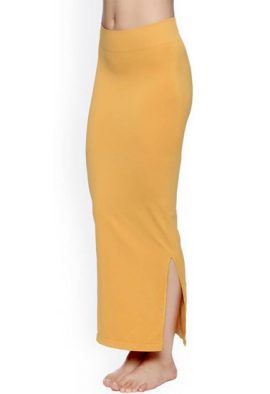 Snazzyway Yellow Sliming Saree Shapewear