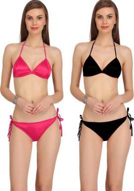Value Pack Of 2 Bikini Bra Set