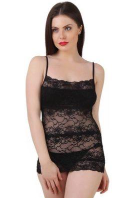 Lace Black Camisole Top