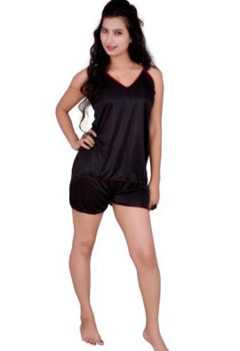 Ladies Flirty Smart Top & Shorts Set