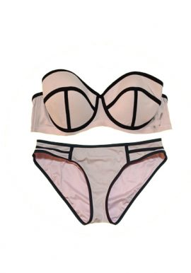 Bras N Things Lavender Pink Lingerie Sets