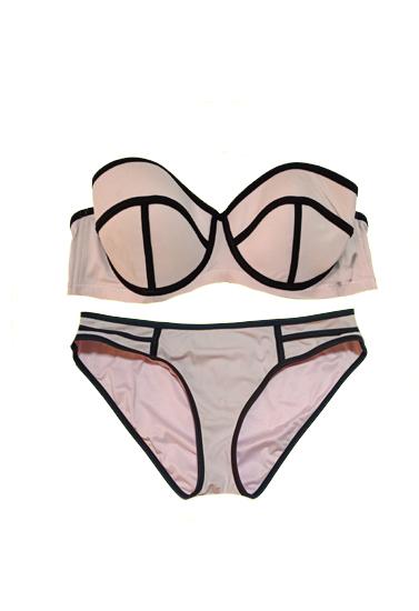 Bras N Things Lavender Pink Lingerie Sets