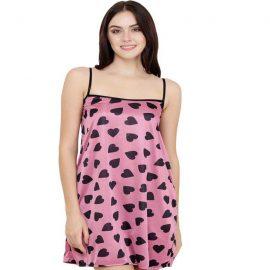 Snazzy Beautiful Pink Women's Nightwear