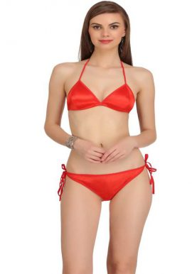 Snazzy Breathtaking Red Lingerie Set