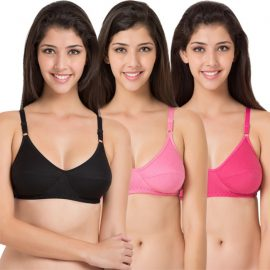Snazzy Superb Pack of 6 Cotton Printed Bras