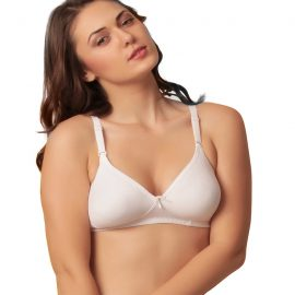 Snazzy Wireless Printed Cotton Bras (Pack of 6)