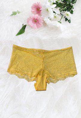 Calvin Klein Romantic Lace Boyshort Panty