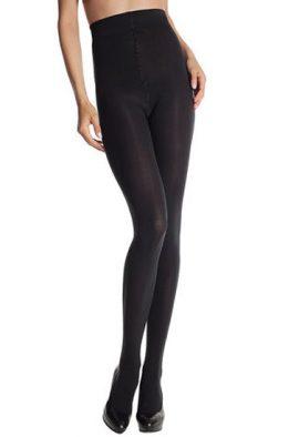 DIM SIGNATURE Luxurious Black Stretch Pantyhose