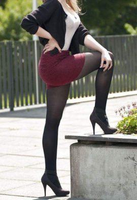 Everyday Elegance Seamless Black Pantyhose Tights
