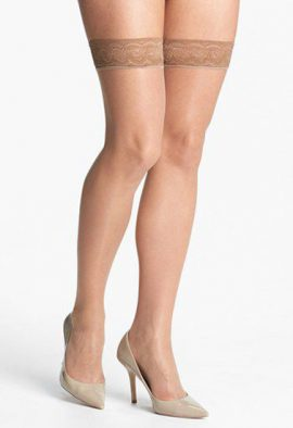 FootSmart Select Support Silicone Top Band Stockings