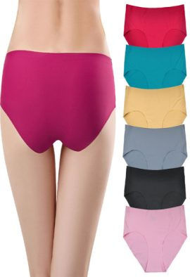 Women's All Time Favorite Seamless Panties For Men Pk Of 6