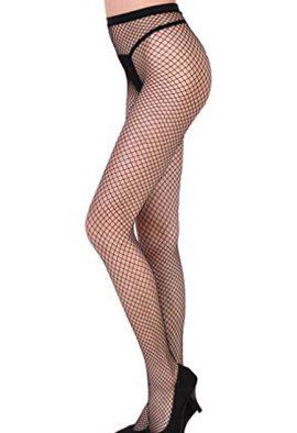 Women's Sexy Black Fishnet Pattern Pantyhose