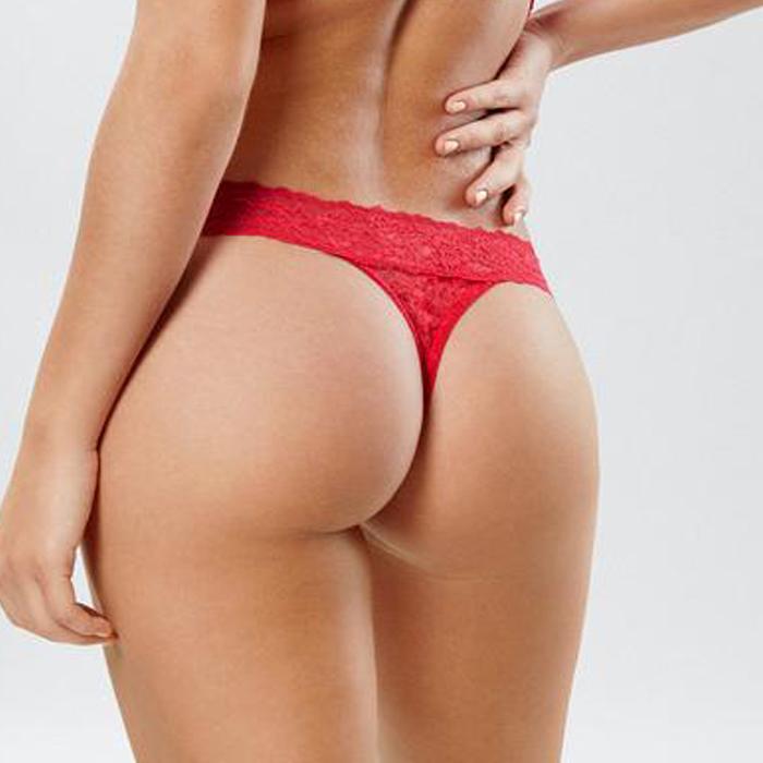 Red Thong Panties HD