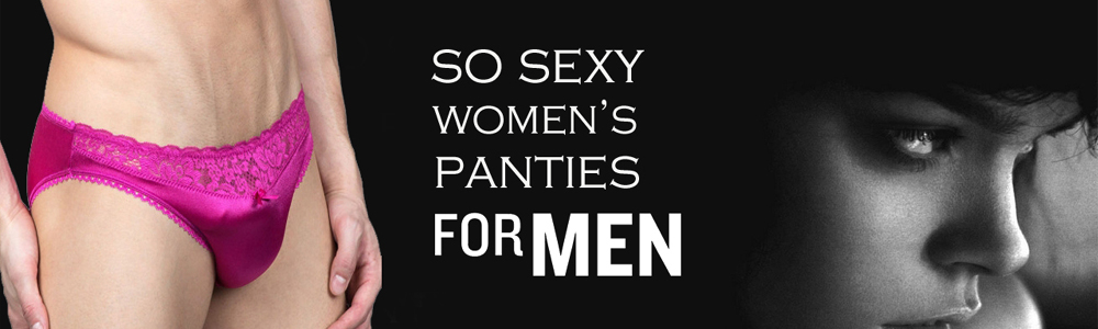 men wear women's panties Snazzyway