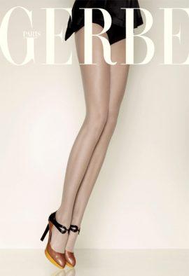 Gerbe Ultra Sheer Control Top Tan Pantyhose