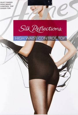 Hanes Silky Sheer Luxurious Fit & Feel Waist Smoother