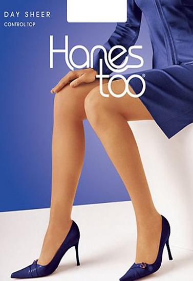 Hanes Too Sheer Control Top Pantyhose