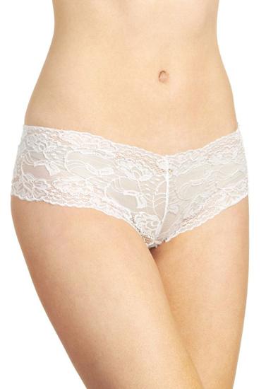 Lacy Line Sexy Stretch Lace Boyshort Panties(2 Pcs)