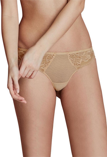 Pack Of 2 Ladies Soft & Fine Lace Tanga Thong