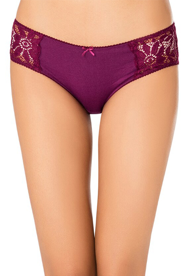 Pk Of 2 Female Lace Hipster Panties