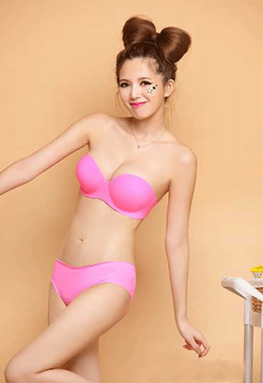 pink strapless Bras for Indian Dresses Snazzyway India