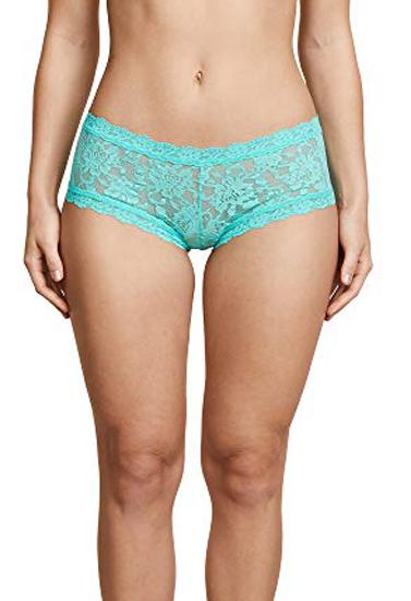 Women's Assorted Lace Boyshort Panties-2 Pk