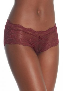 Women's Comfort Covered Lace Hipster Panties(2 Pcs)