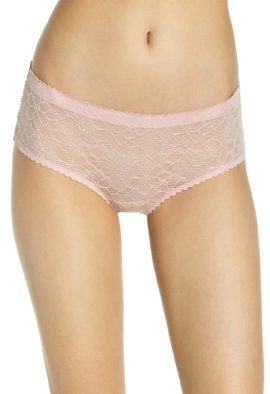 Women's Ultra Thin Lace Hipsters Pack Of 2
