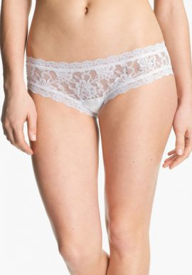Target Collection White Floral Visible Lace Panty