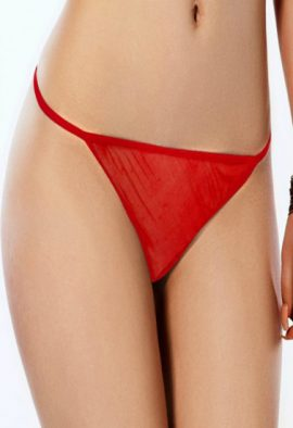Yamamay Romantic Red Lace G-String