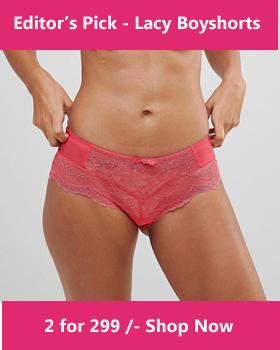Do women in India wear thongs panties