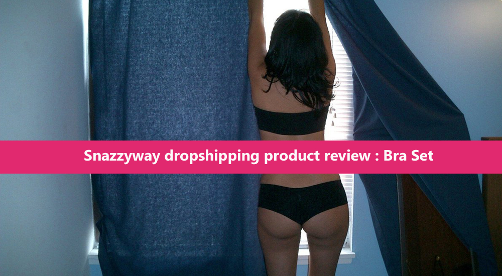 Snazzyway dropshipping product review Bra Set