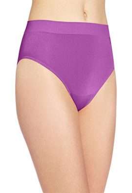 Women's Plus Comfort Covered Cotton Assorted Brief Panty pack of 5