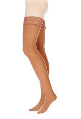 Brown stylish everyday ultra soft women stockings