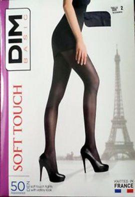 Dim opaque satine 50 denier women pantyhose pack of 2