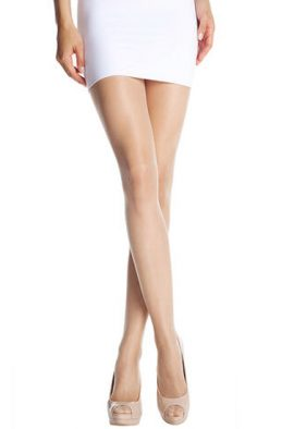 Everday Collant !5 deniers shine cream women pantyhose tights