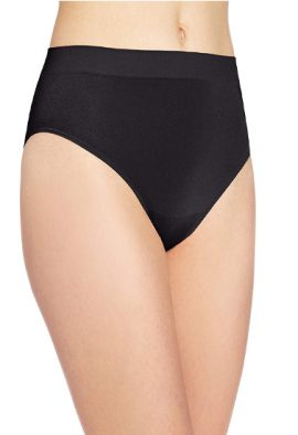 Snazzy Women's Cotton No Ride Up Brief Panties, 2-Pack