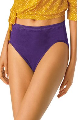 Snazzy Women's Plus Cotton Brief Assorted Panties - 5 Pack