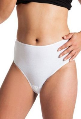 Snazzy cotton Comfort everyday Hi-Cut Panty pack of 4